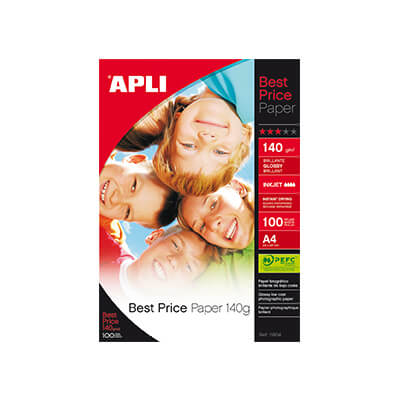 Papel A4 glossy 140gr Best Price