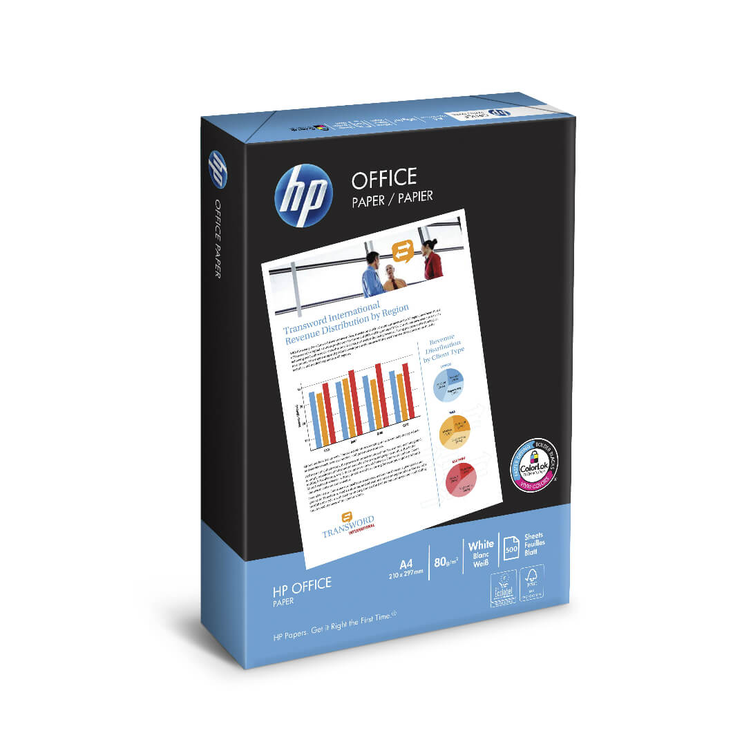 HP Office papel A3 80gr 500h