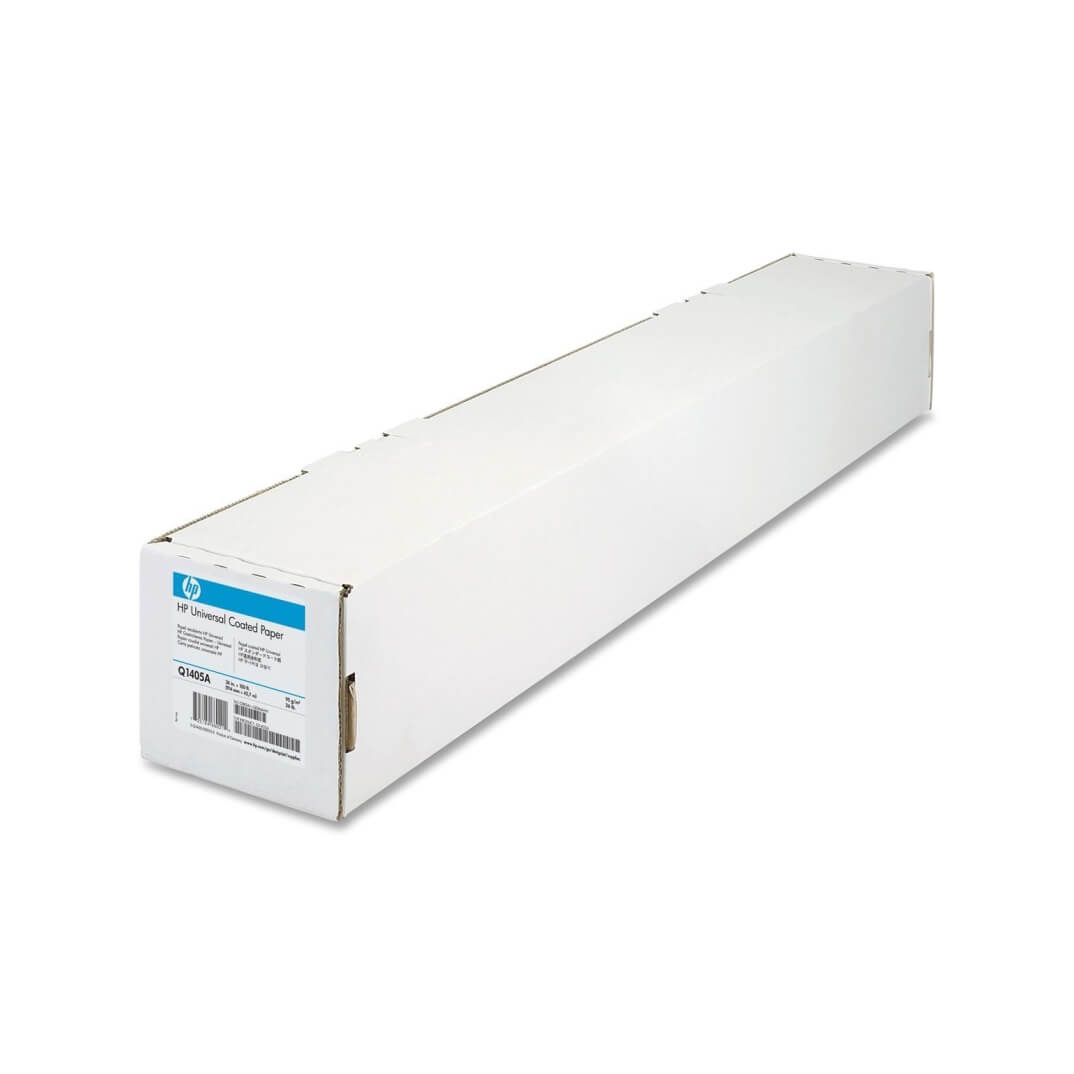 HP papel Coated HP 32'x150ft 914mmx45,7m 90g/m2