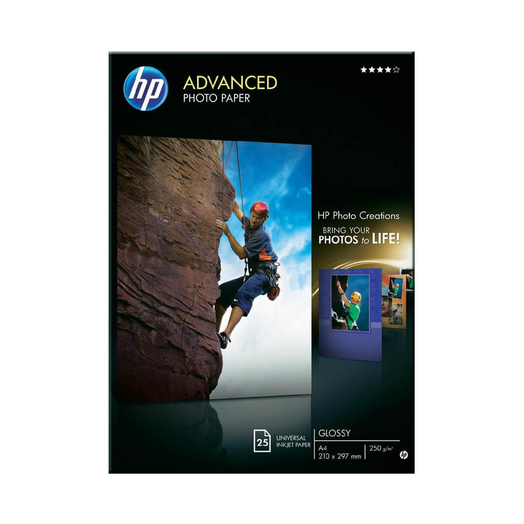 HP papel Advanced glossy photo A4 250gr 25h