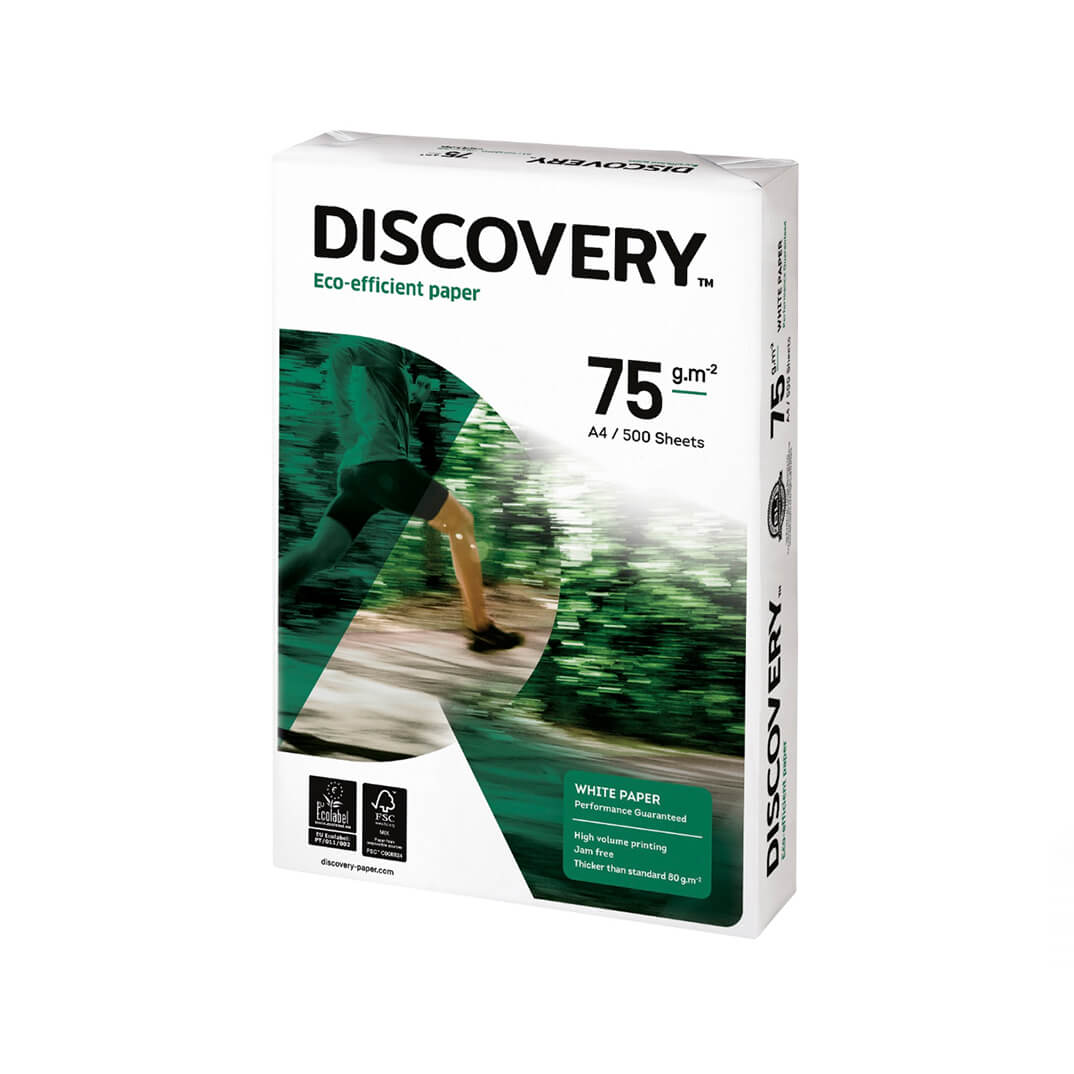 Caja papel Discovery 2500h A4 75gr